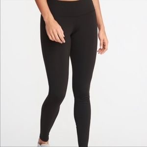 Old Navy Active Go Dry High Rise Black Leggings S